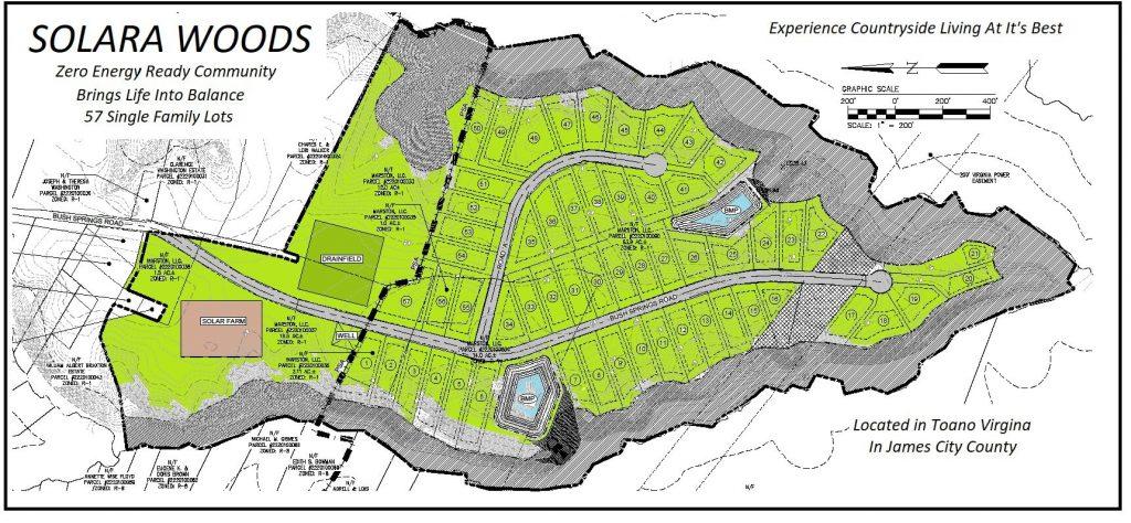 Site Map Solara Woods