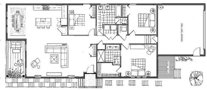 The Virginian Floorplan