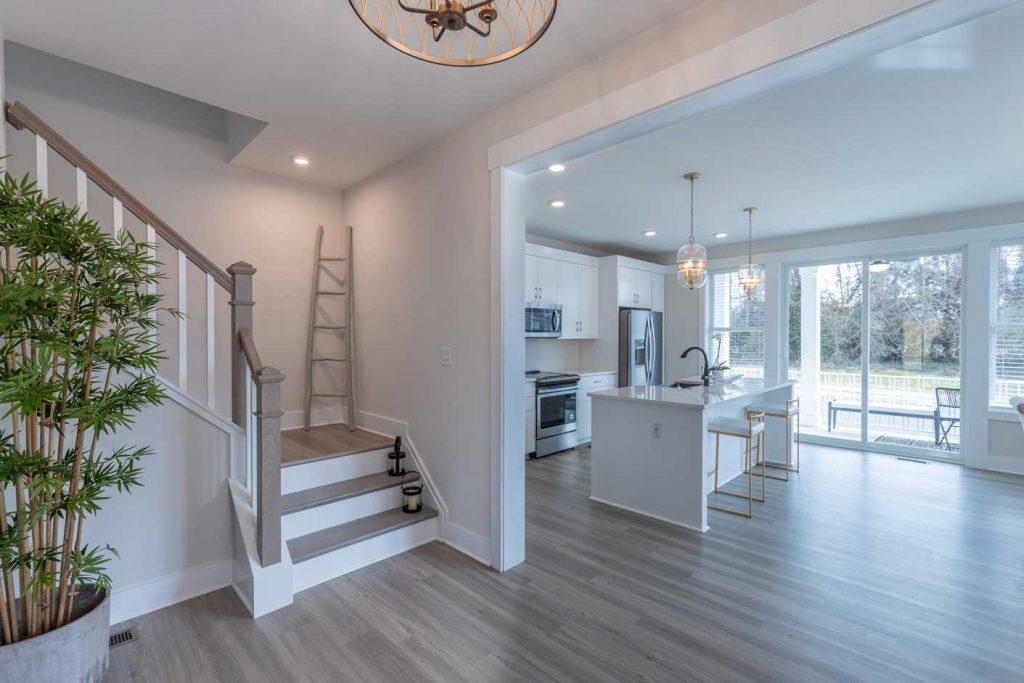 Stairs Kitchen